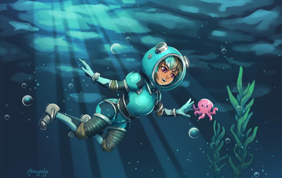 Amy gerardy scuba