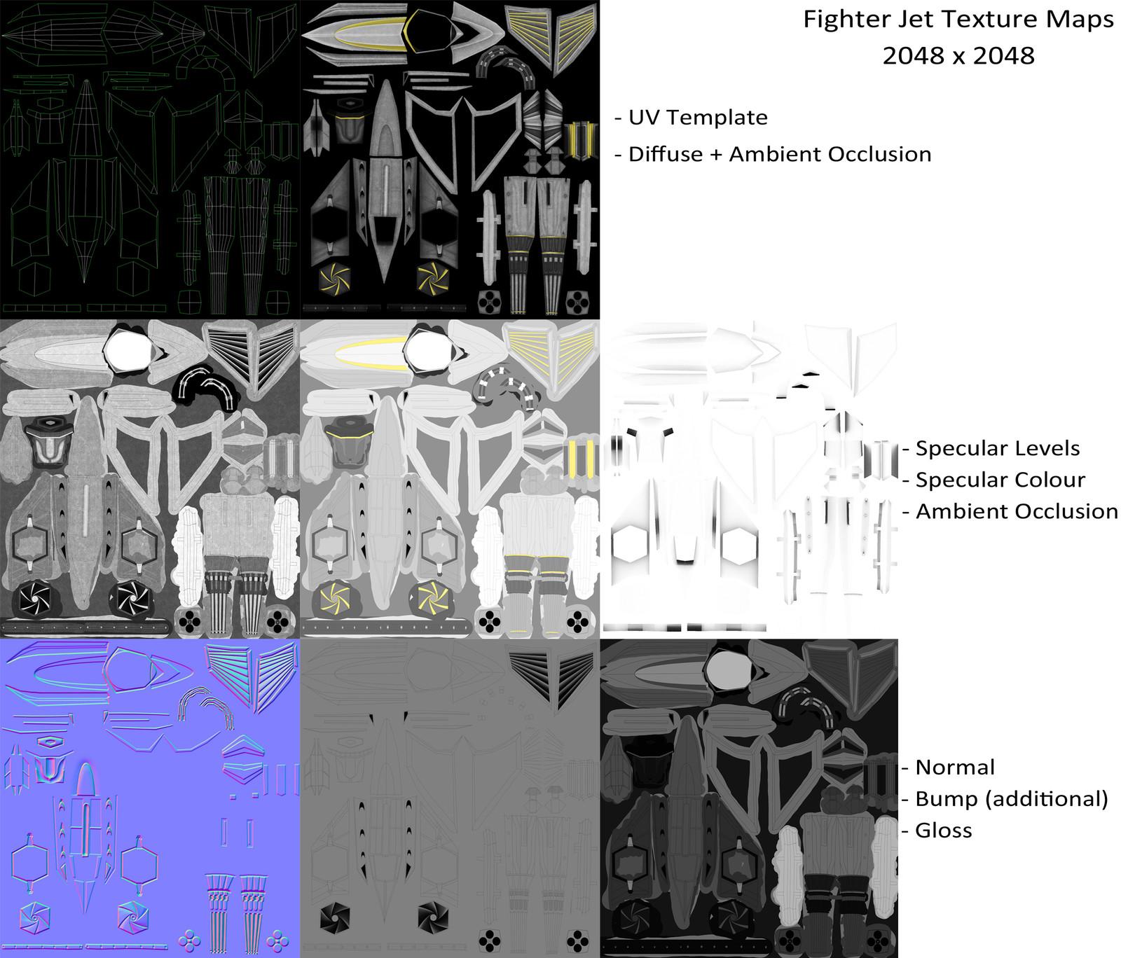 Texture Maps Clean