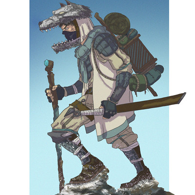 Pepo skywalker character traveler