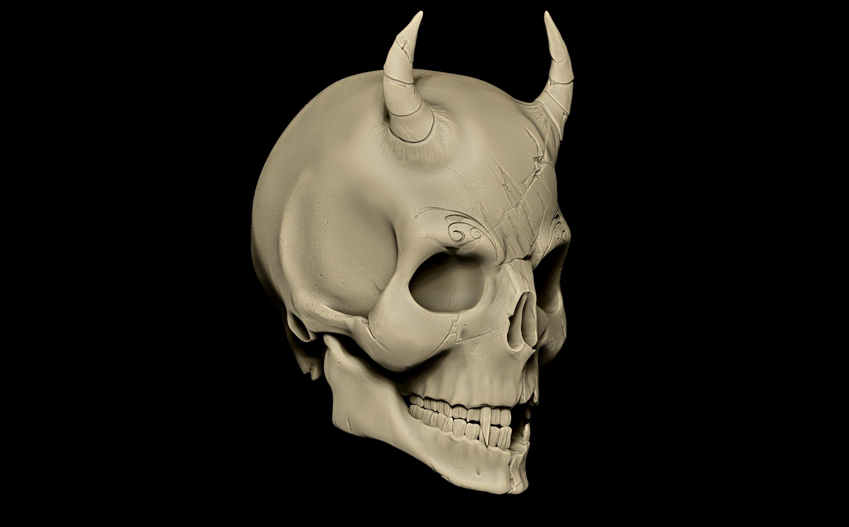 Clay render - Damged