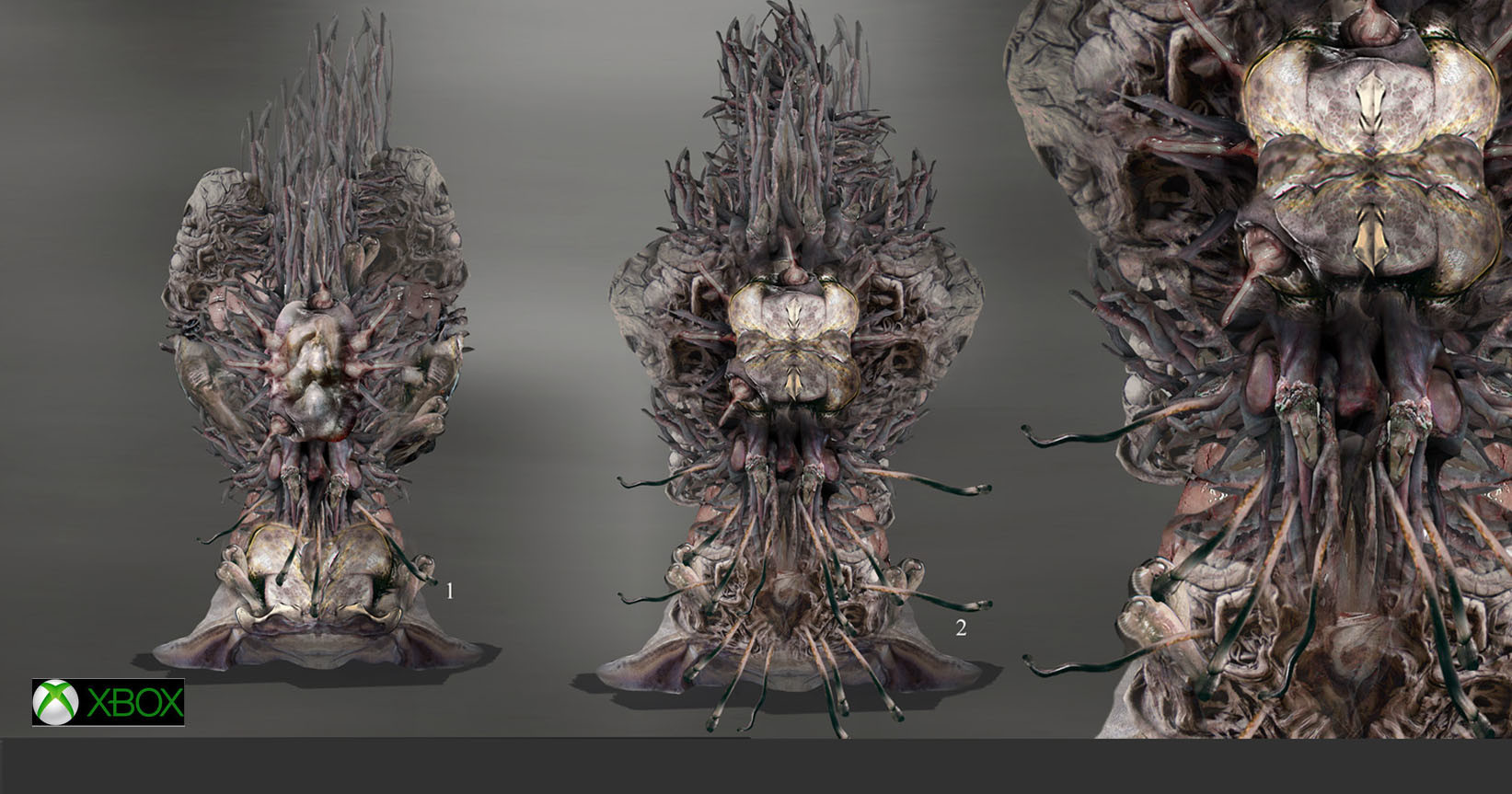 Plant based lifeforms  for a unreleased GAME
