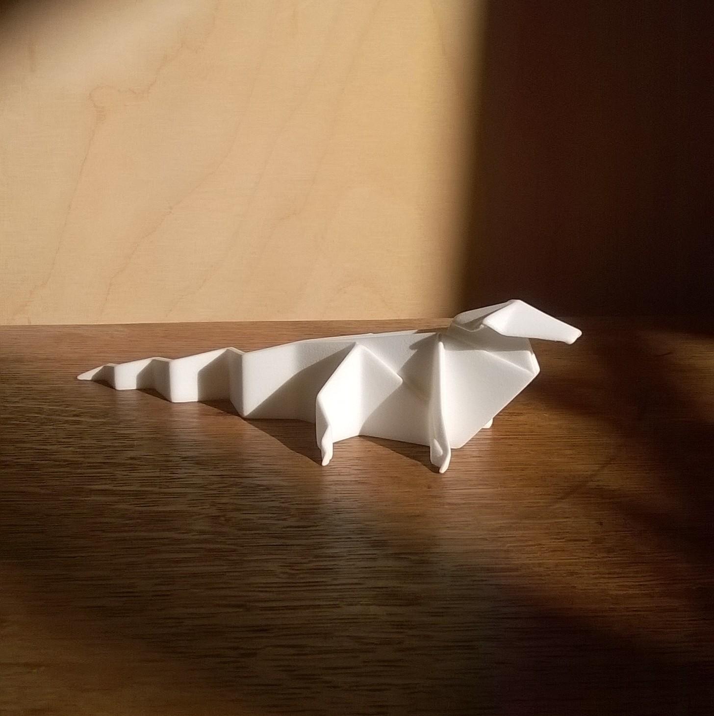 Crocogami, 3D Print.