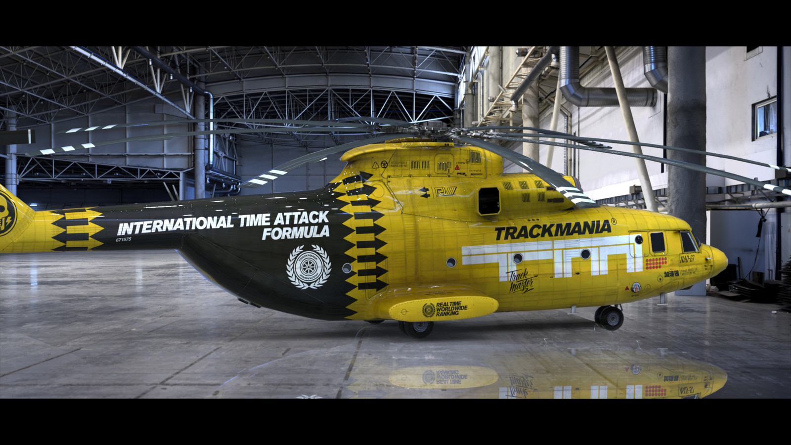 Trackmania Turbo - Helicopter