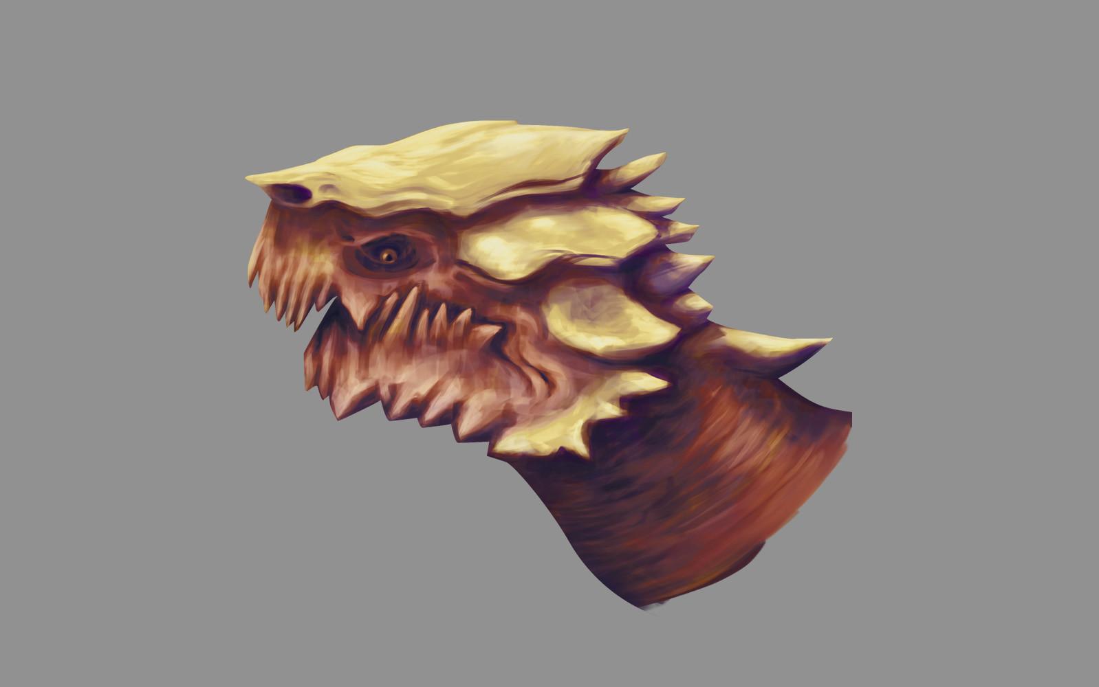 Red bone dragon