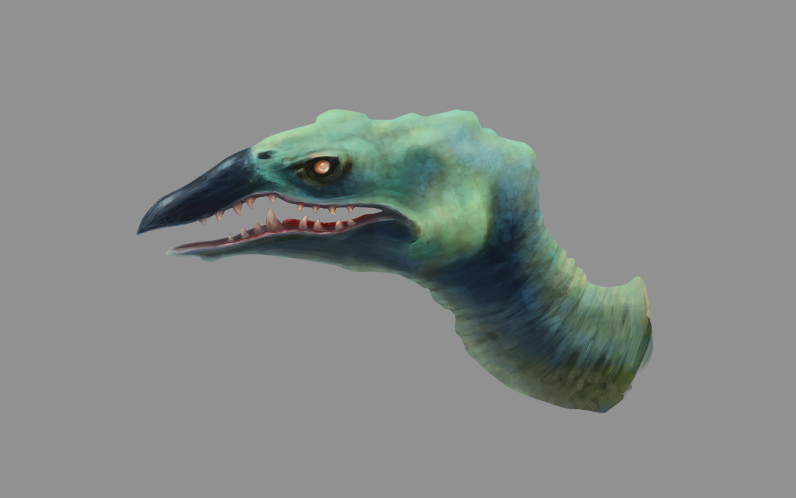 Green beak dragon