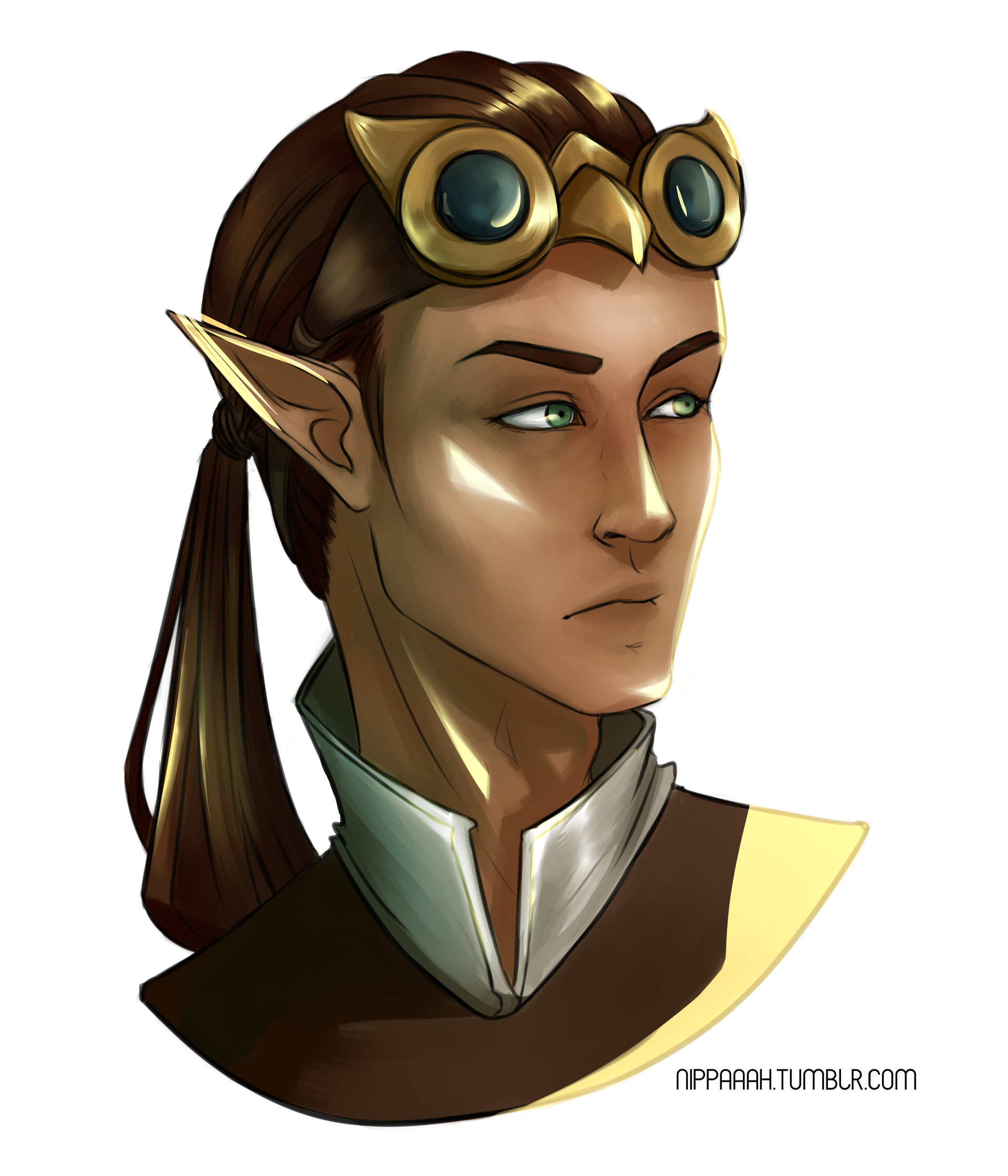 Syldir Naradine, High Elf, Gunslinger, chaotic good