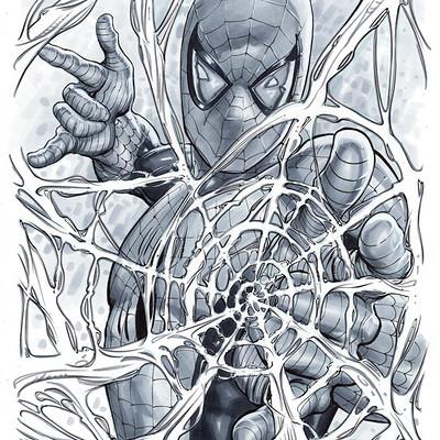 Marco santucci spiderman 03