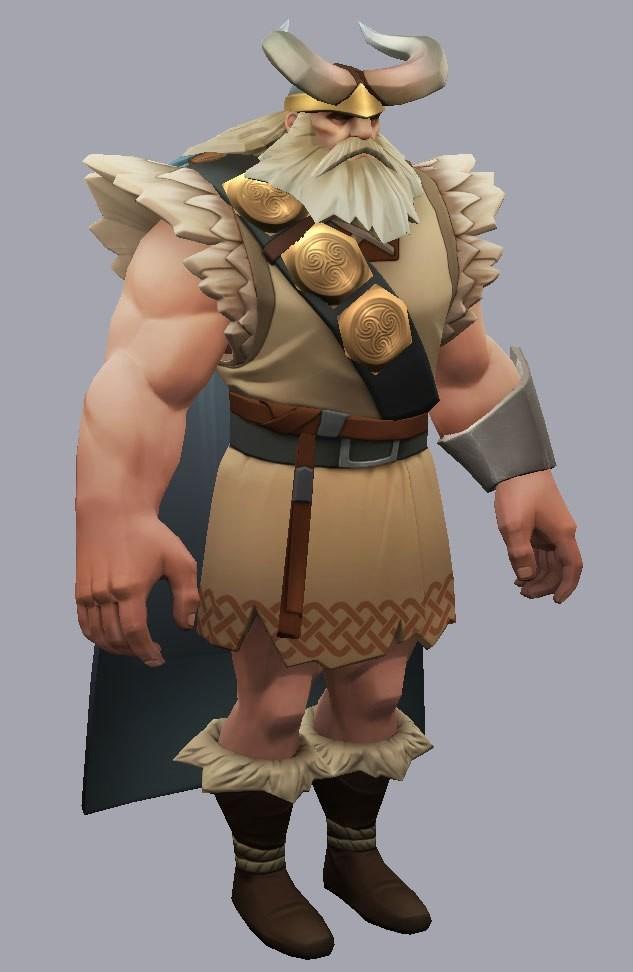 T d chiu viking textures