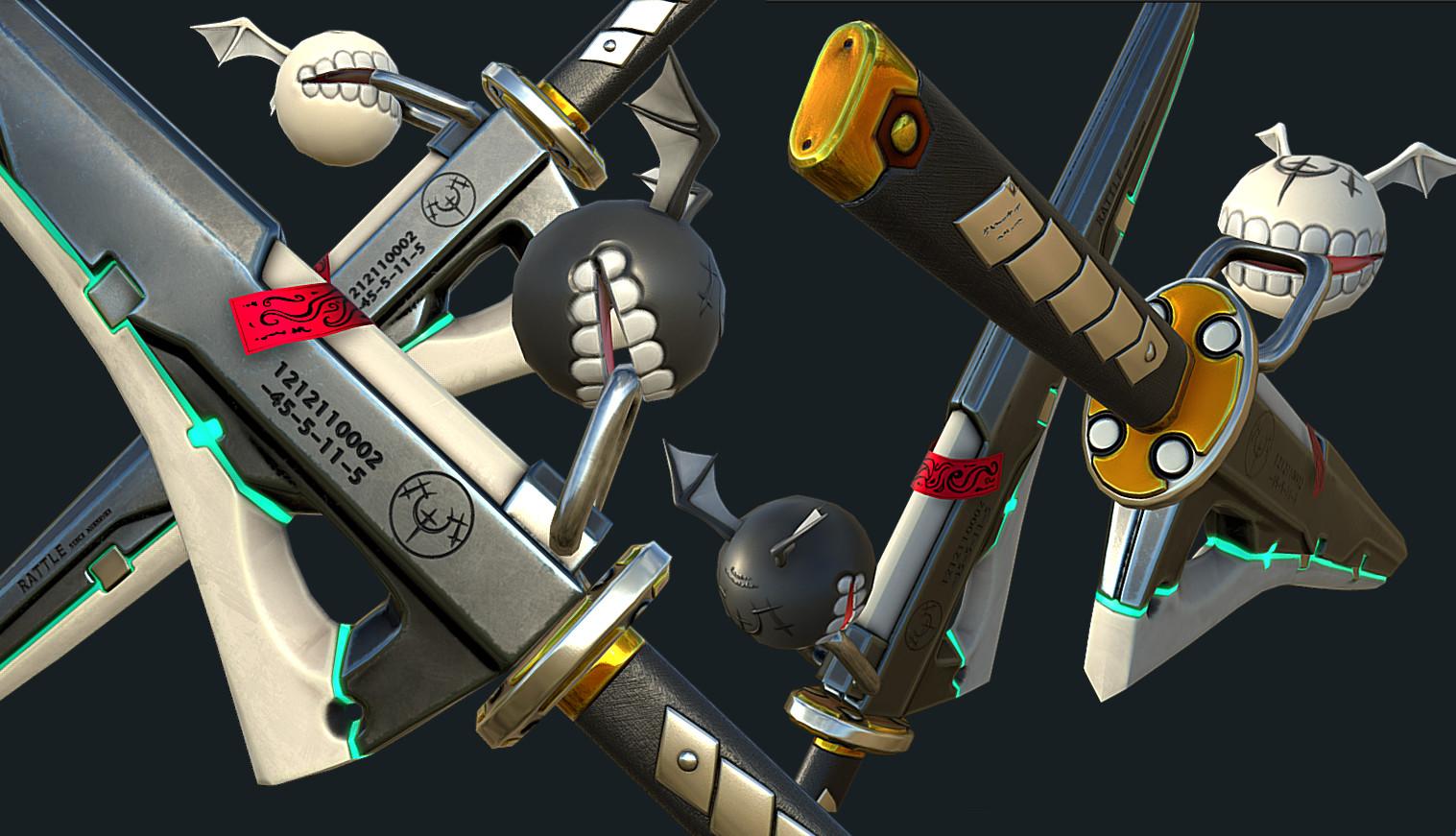 Ramlethal Valentine Dual Swords