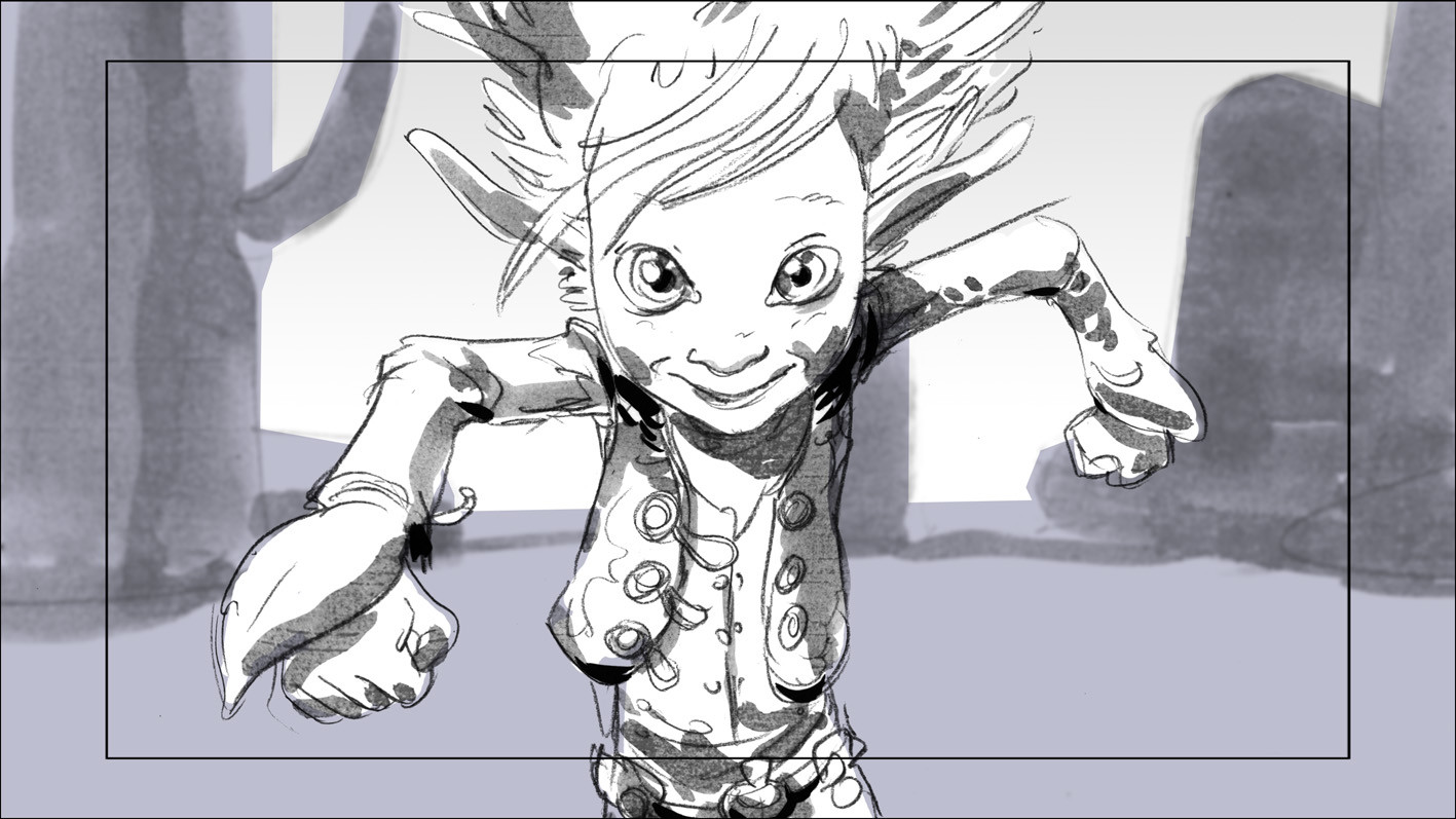 Arthur storyboard