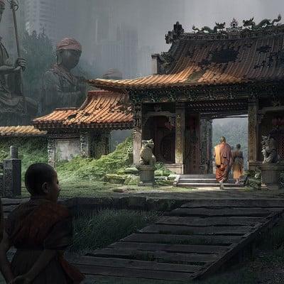 Siewhong lum thu challenge 15 artstation