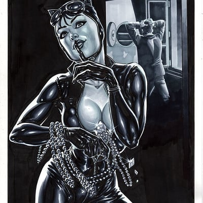 Marco santucci cat woman 01