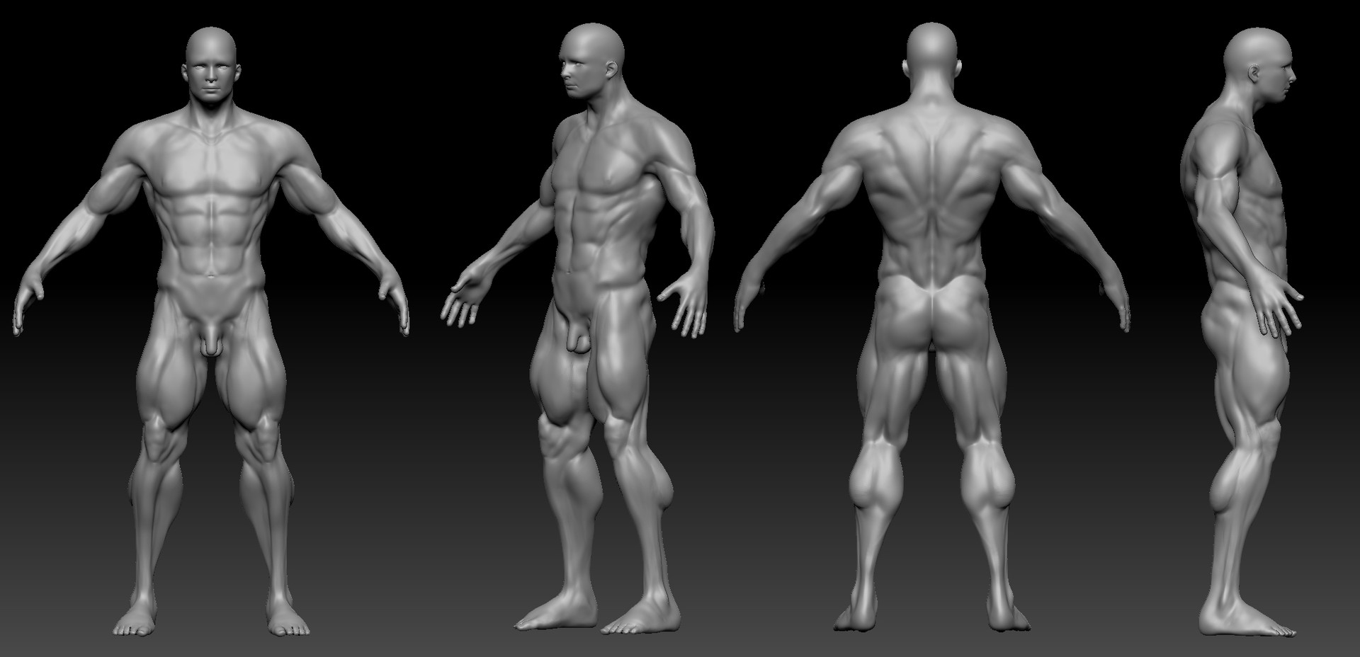 Game Character 01 - Heroic Male Sculpt