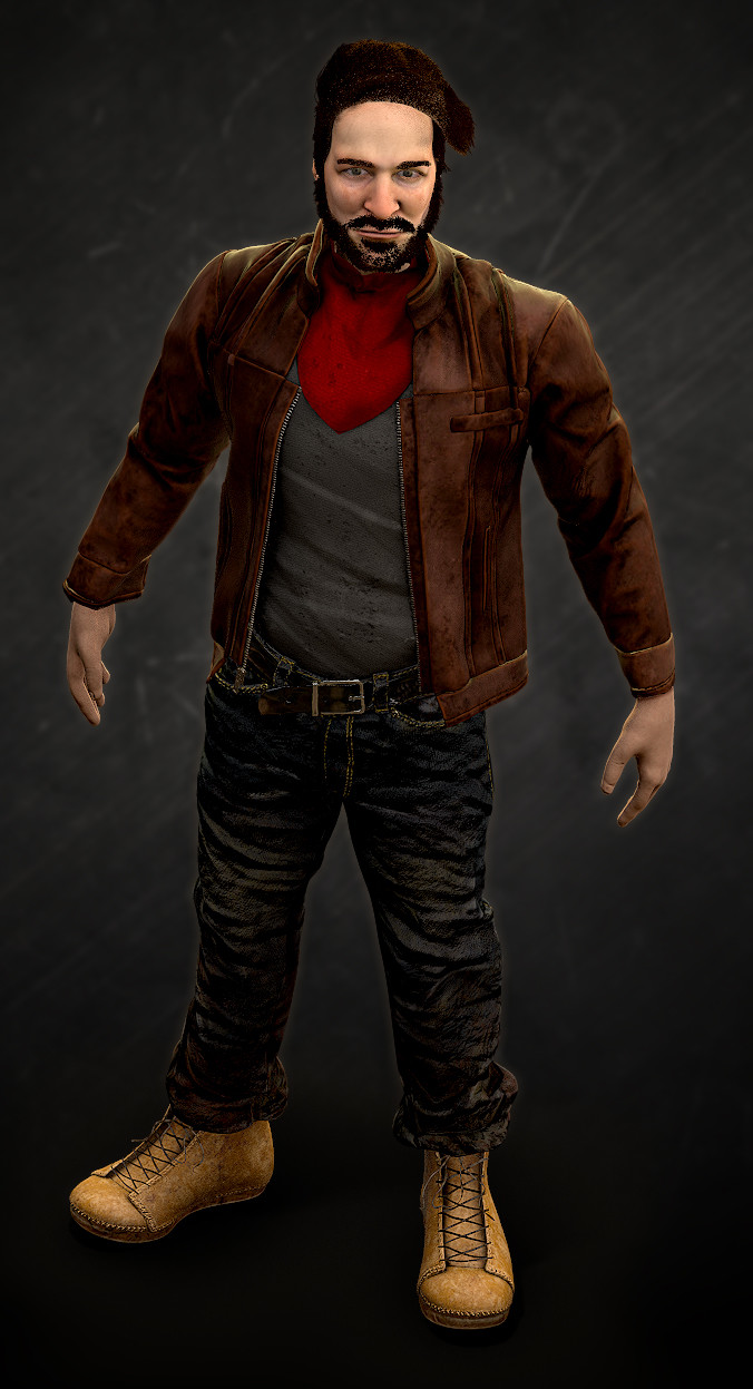Game Character 01 - Front Side