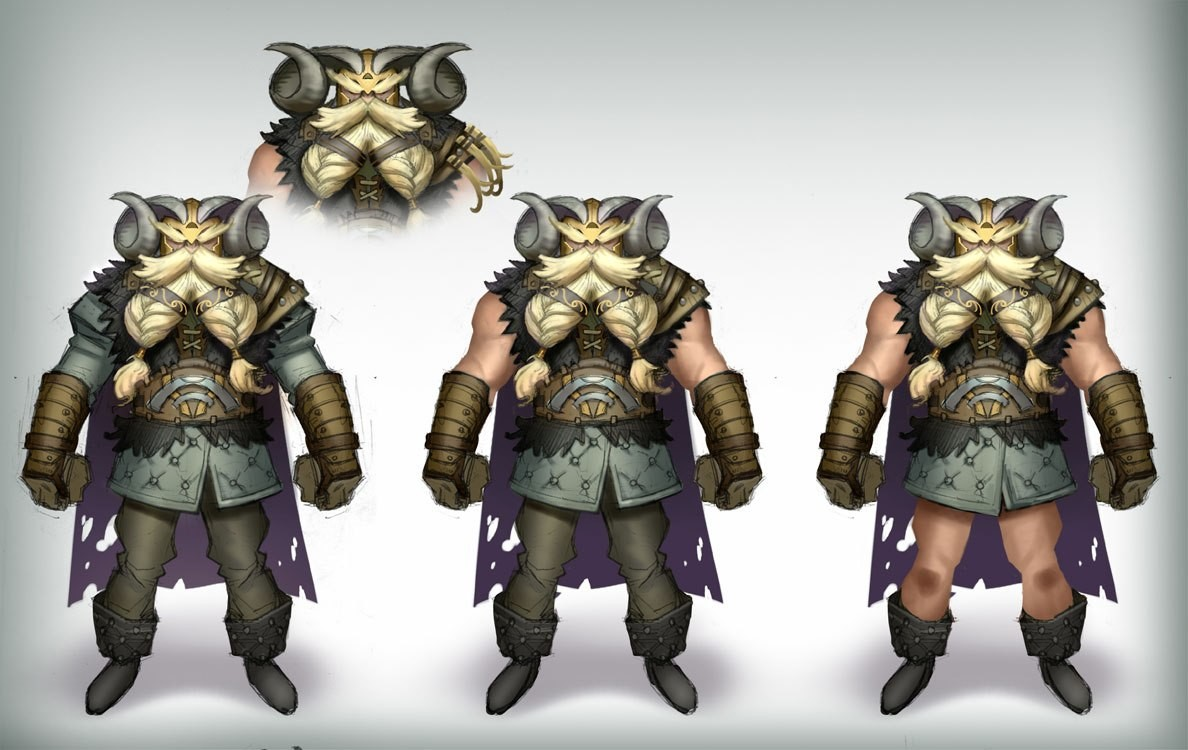 T d chiu viking costume02