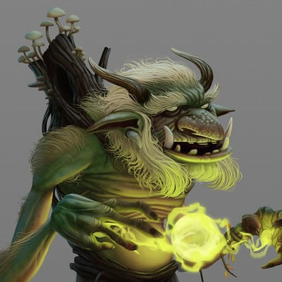 Mikael morin hamelin 02 troll design v01