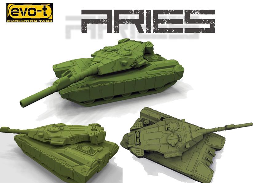 German impache cover aries tank