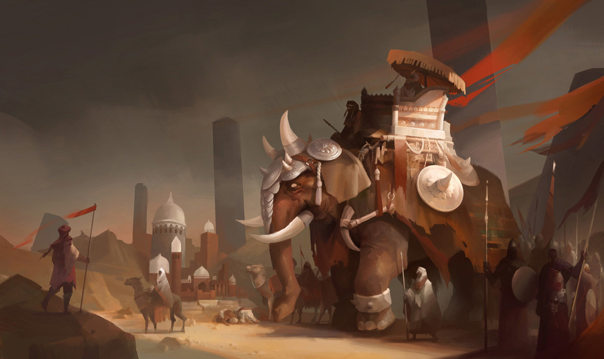 Hua lu elephant