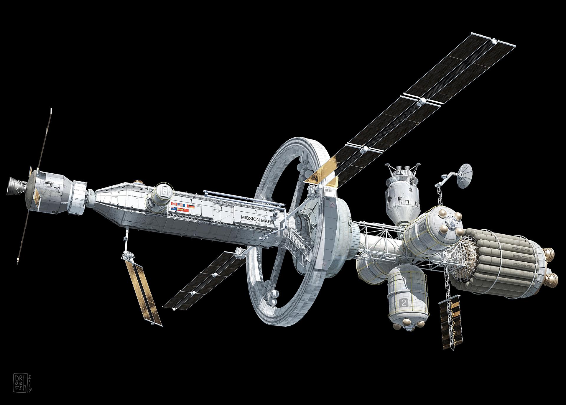 Dofresh missionmars spaceship