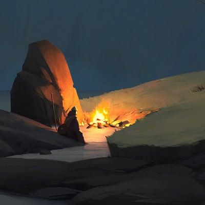David fortin night by the fire davidfortin wk7