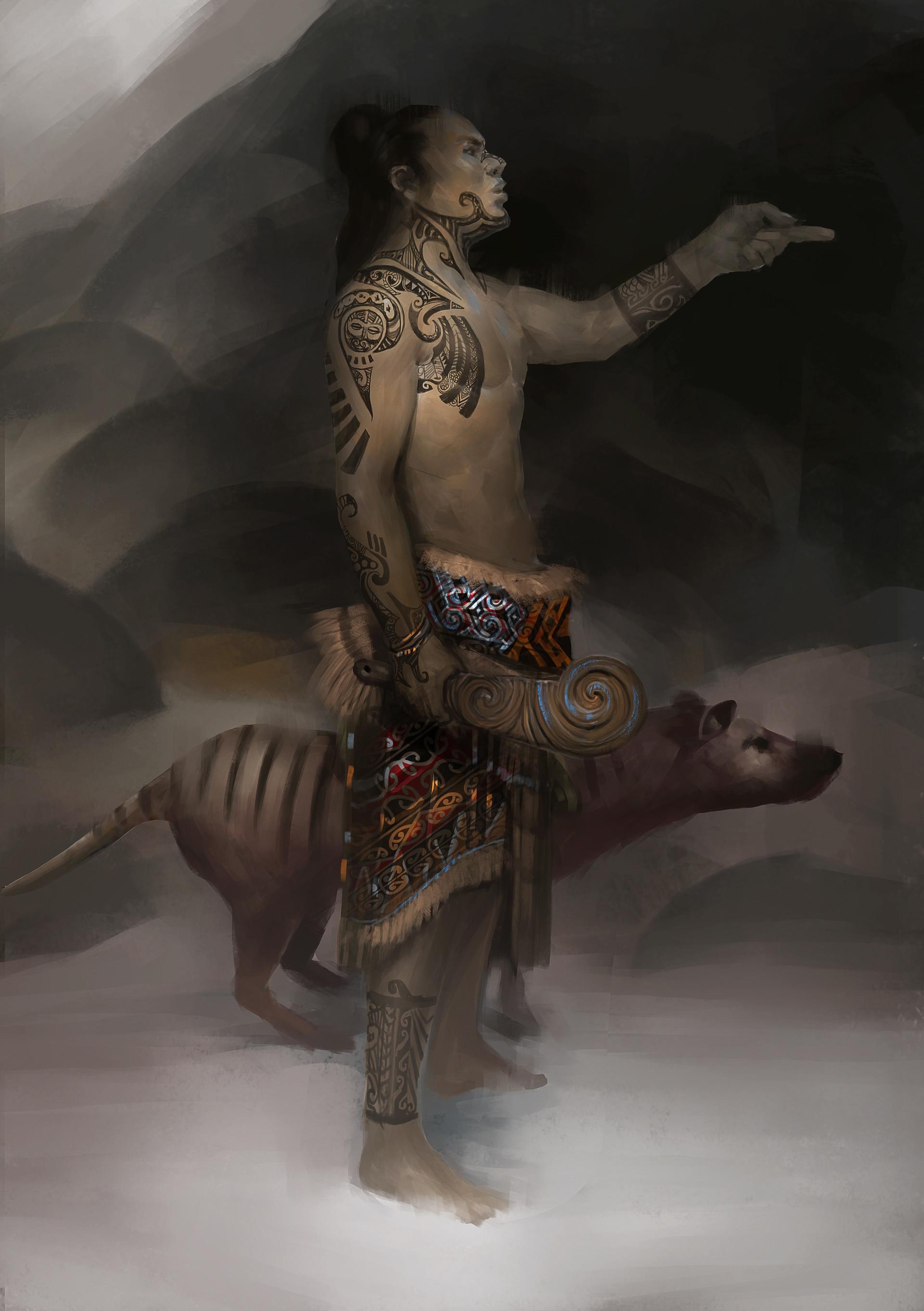 Pierre raveneau mine field maori