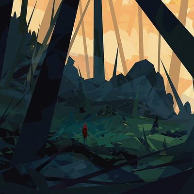 Daniel schmelling minimalistic landscape 4