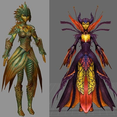 T d chiu customizationarmor sylvari