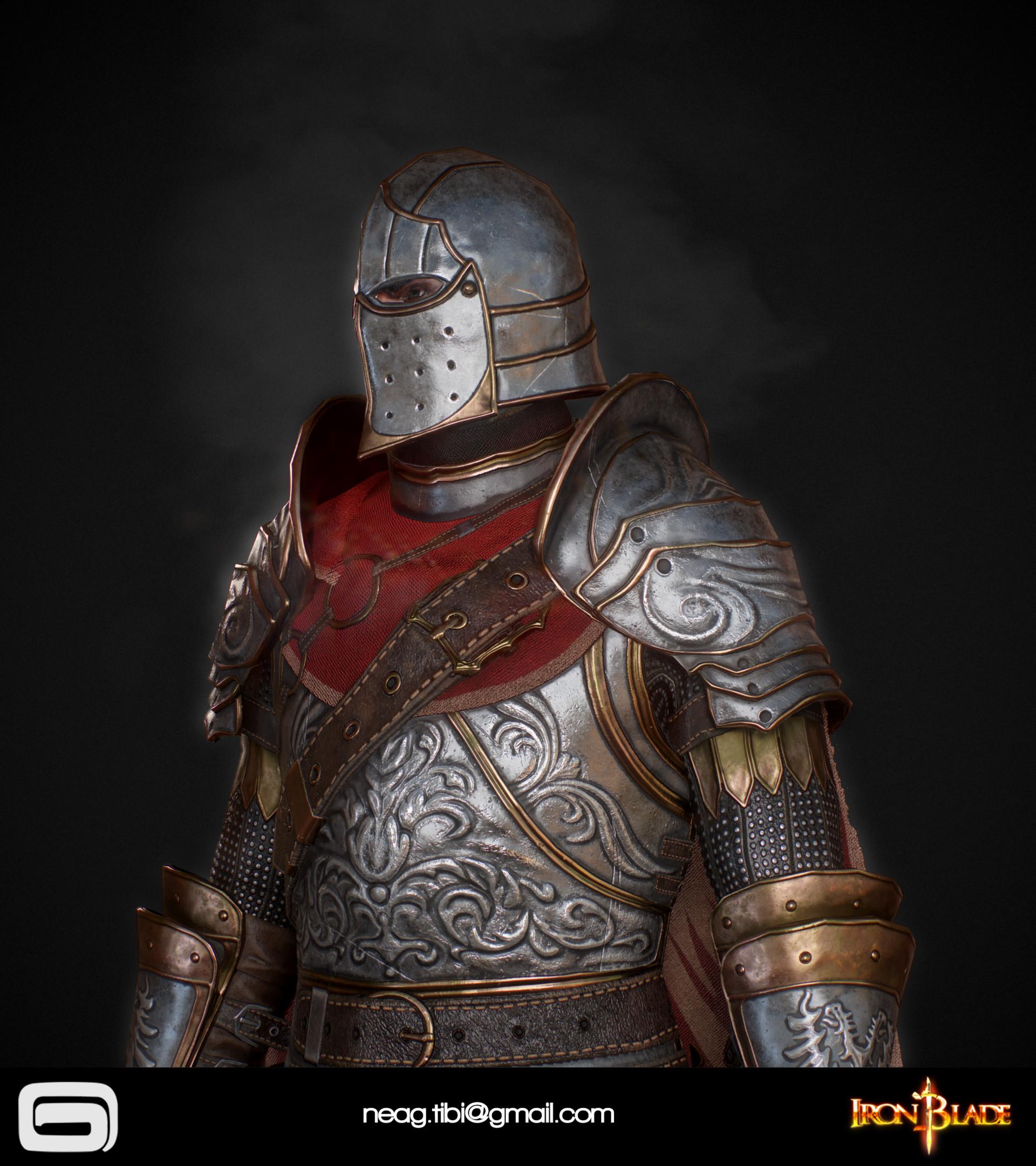 Tibi neag tibi neag iron blade mc armor 02c low poly 05