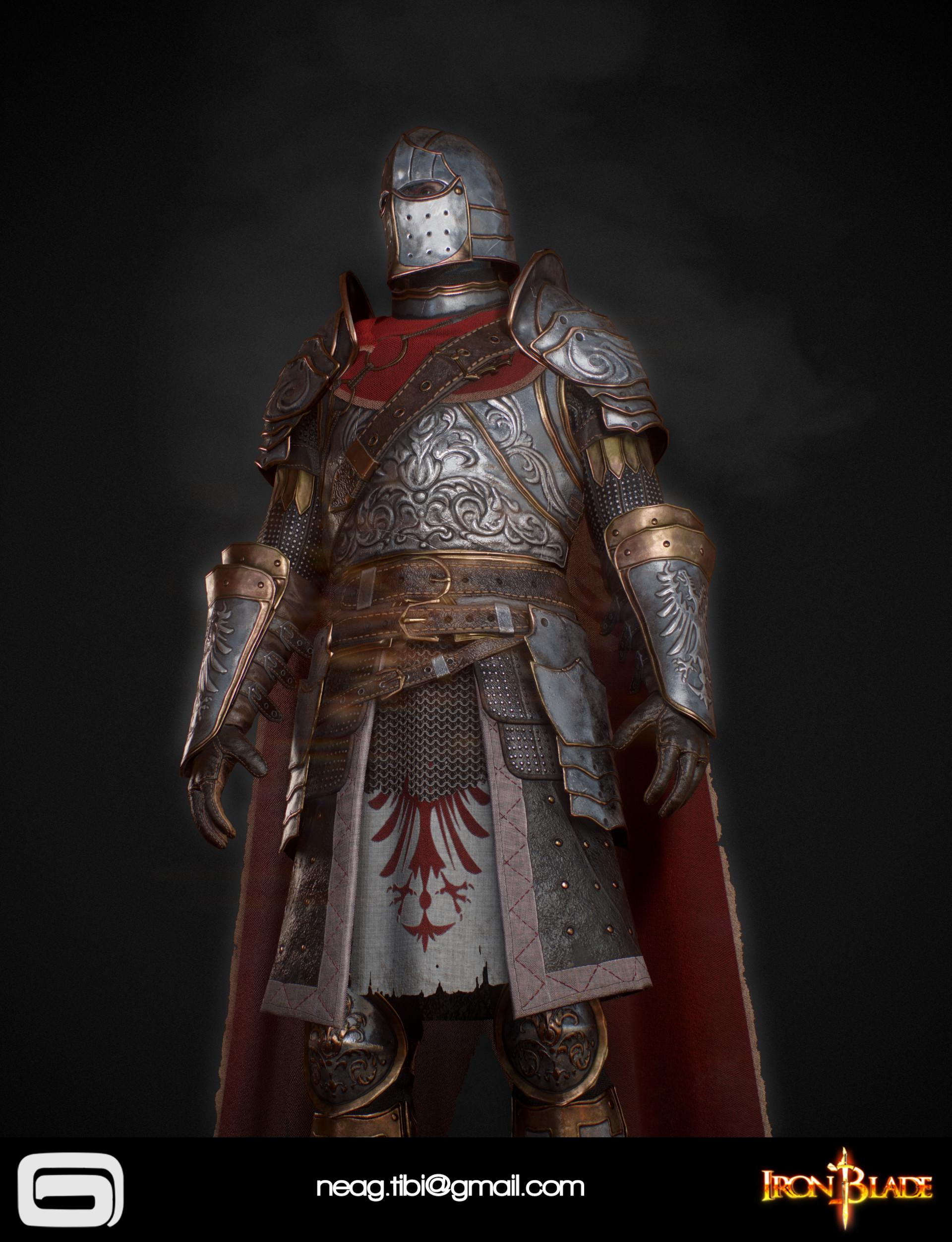 Tibi neag tibi neag iron blade mc armor 02c low poly 06
