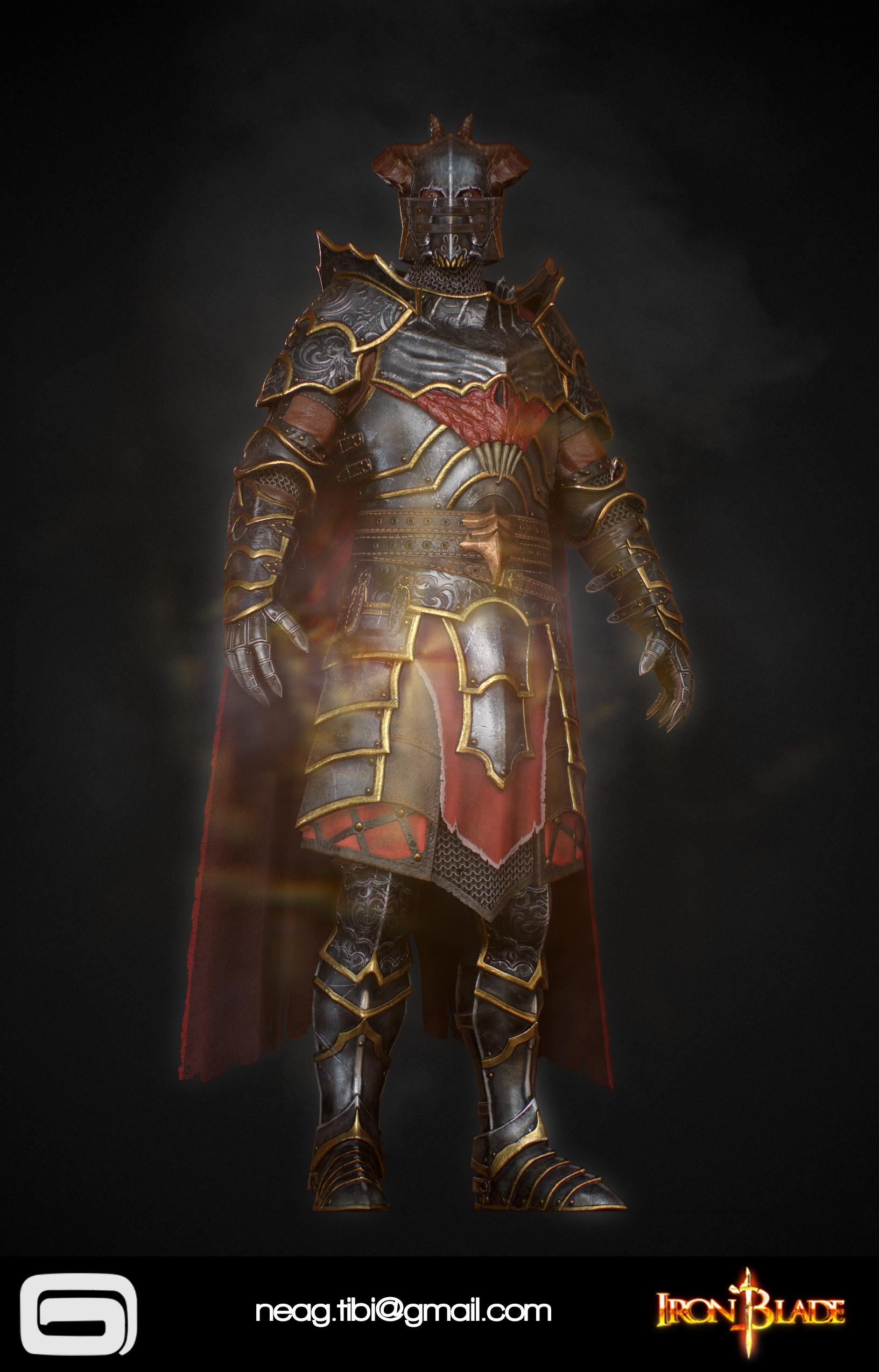 Tibi neag tibi neag iron blade mc armor 10c low poly 02