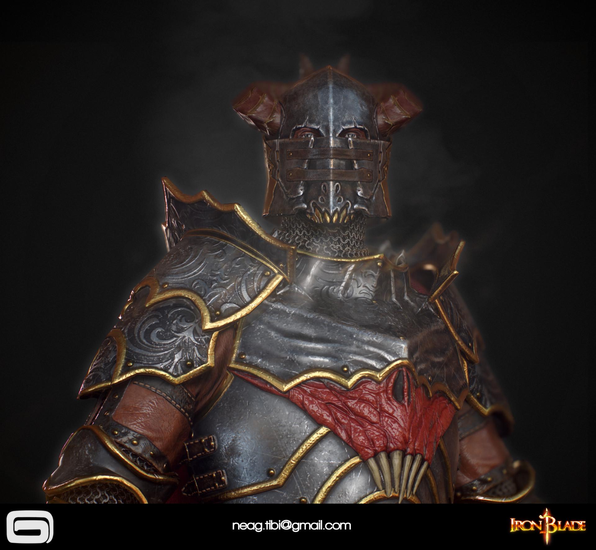 Tibi neag tibi neag iron blade mc armor 10c low poly 05 resize
