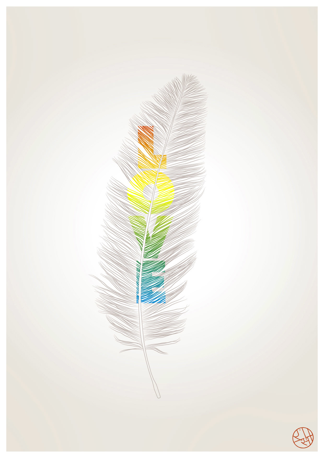 Rajesh sawant feather love2 01