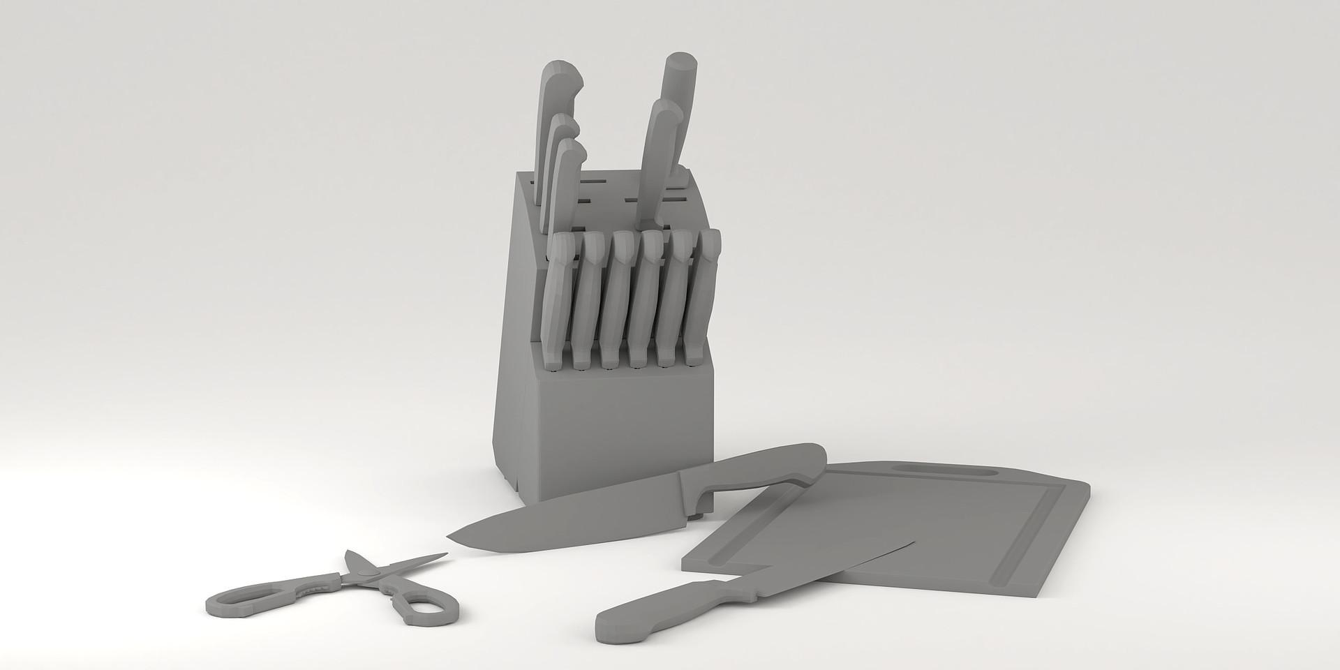 Josh godwin cutlery clay post