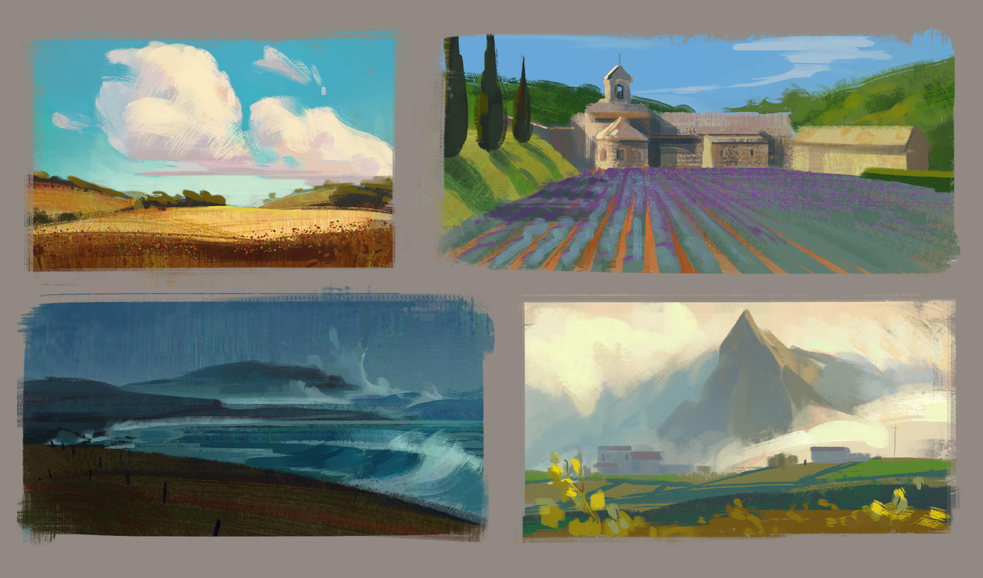 Cathleen mcallister color thumbnail studies