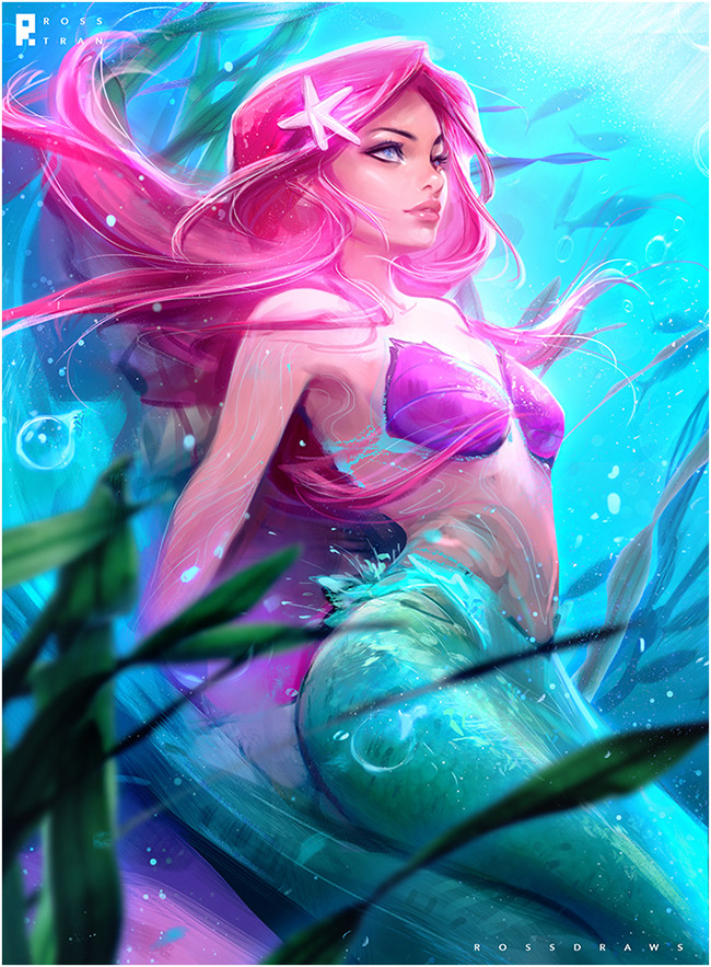 Ross tran little mermaid