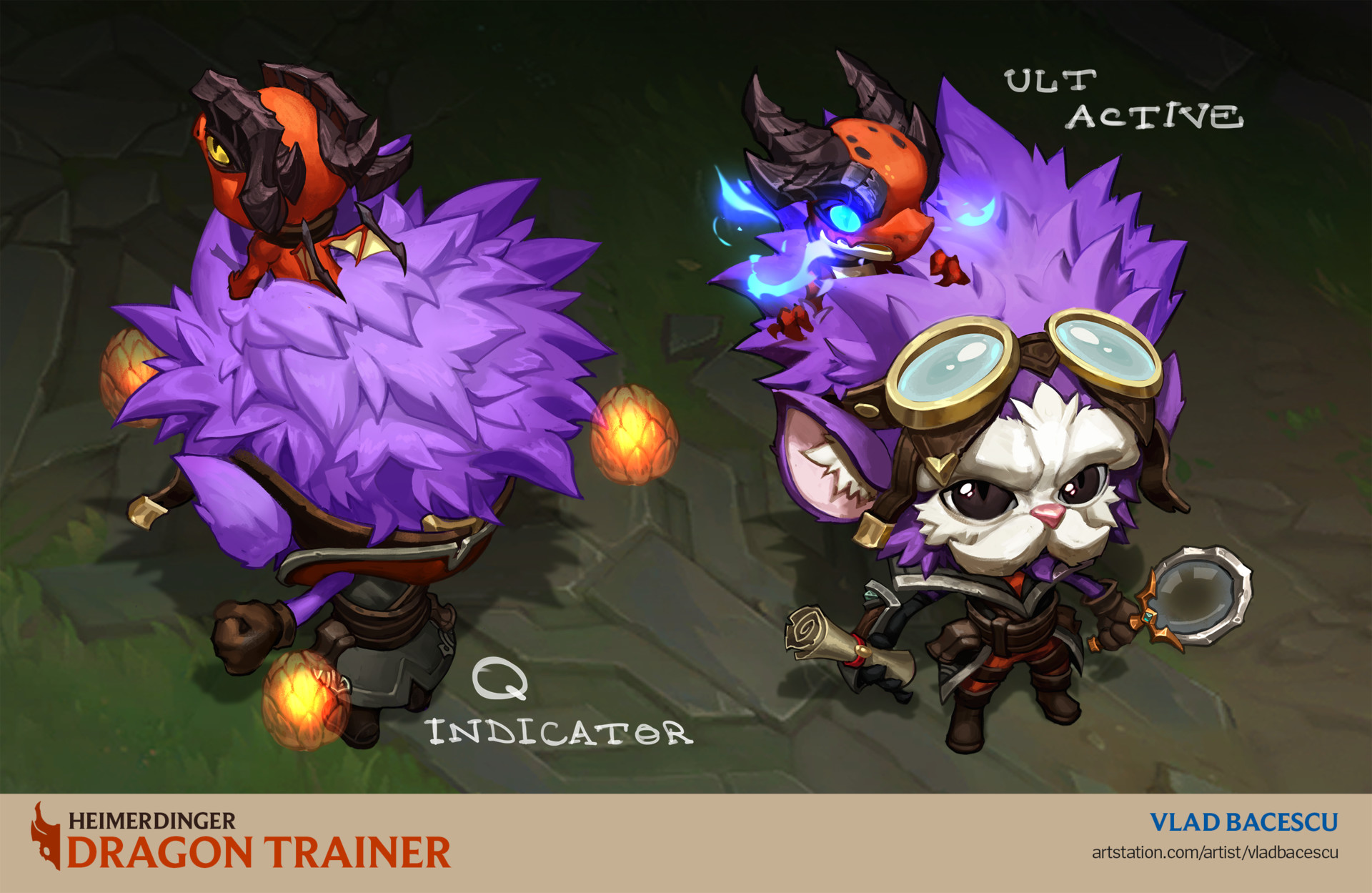 heimerdinger dragon trainer