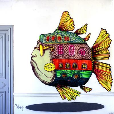 Roch marcorelles nubian fresque casa bondels 1