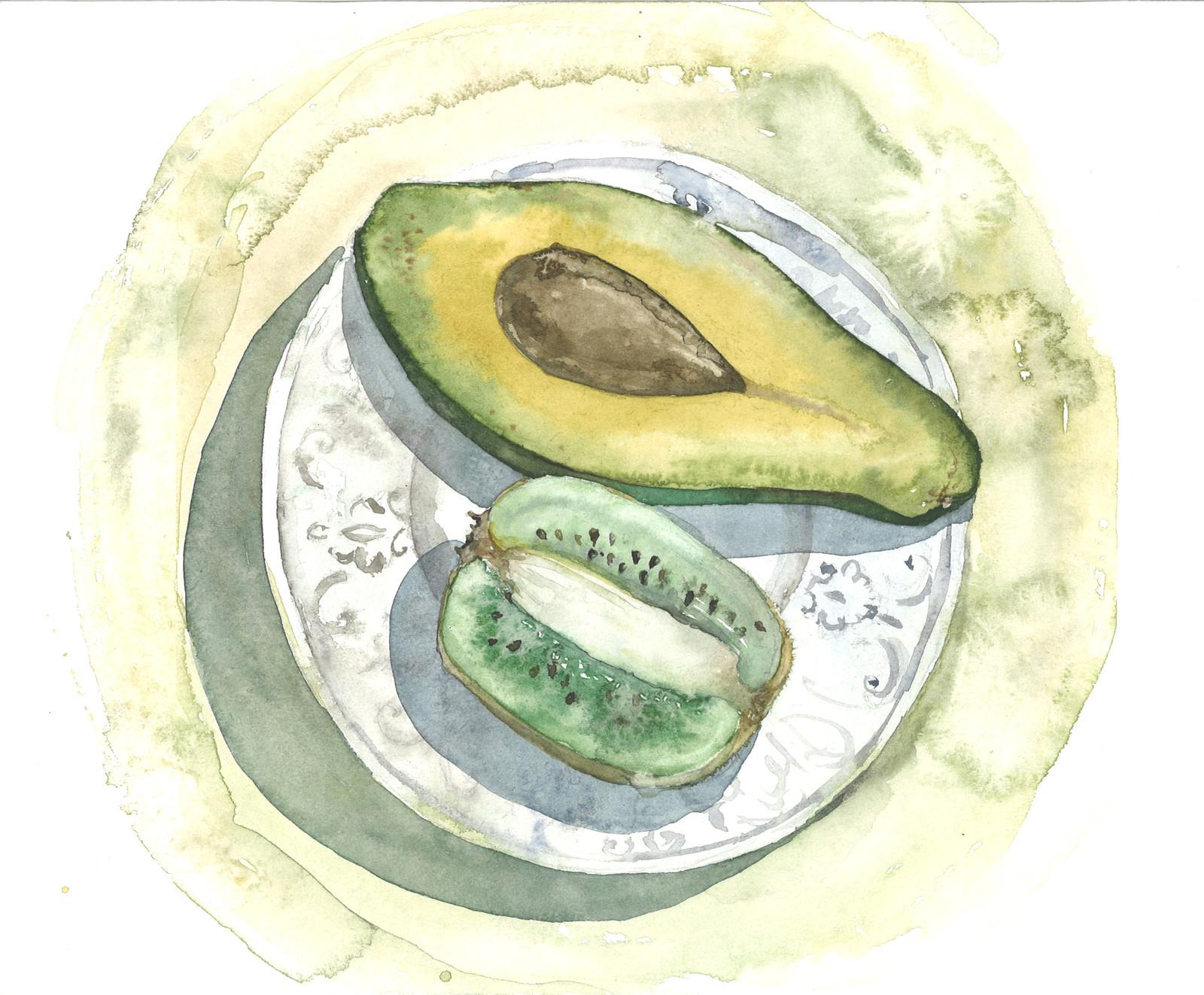 Gastronomy illustration