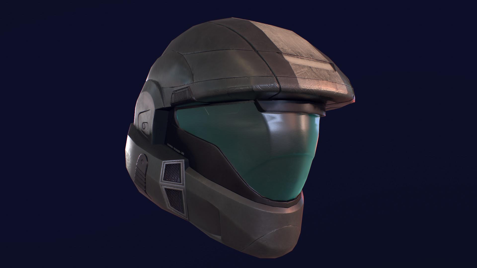 ArtStation - Halo ODST Helmet (Fan Art), Gary Campos