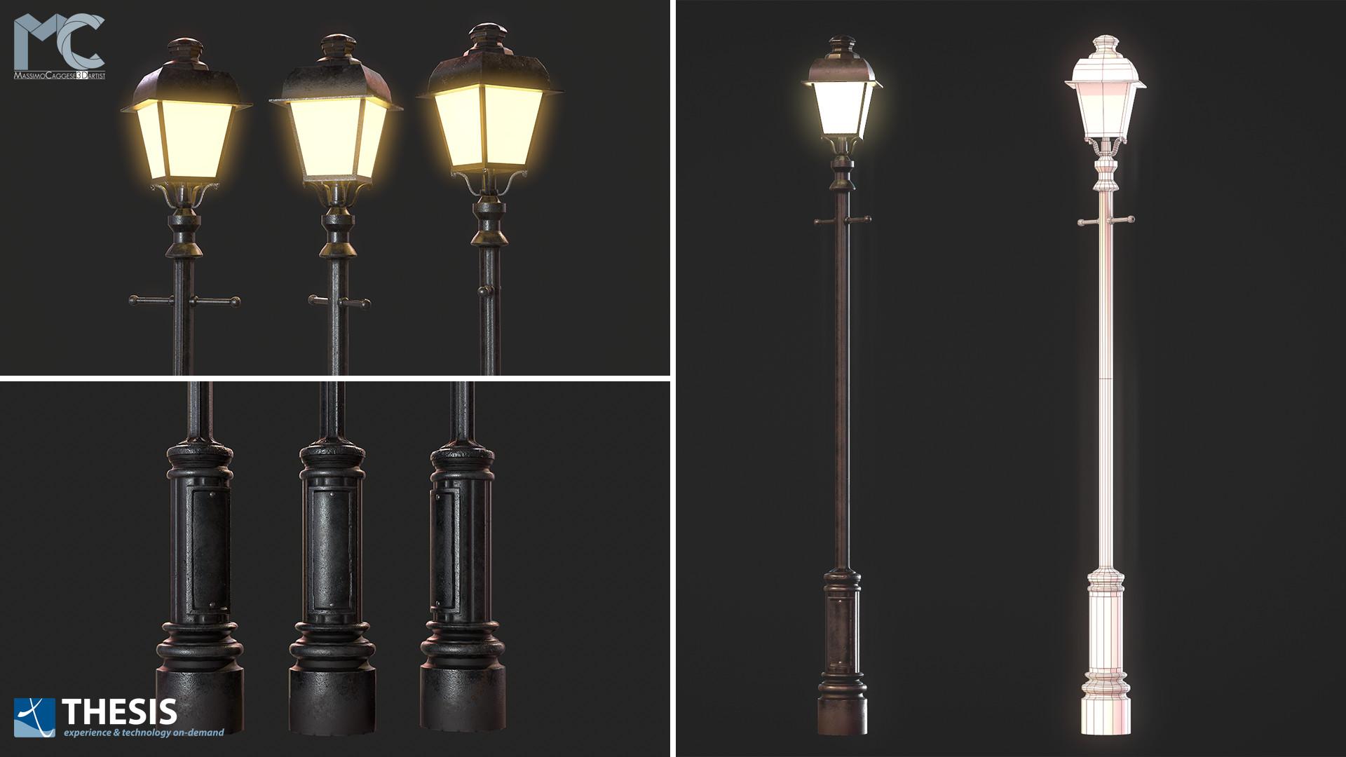 Streetlight (Marmoset Toolbag 3).