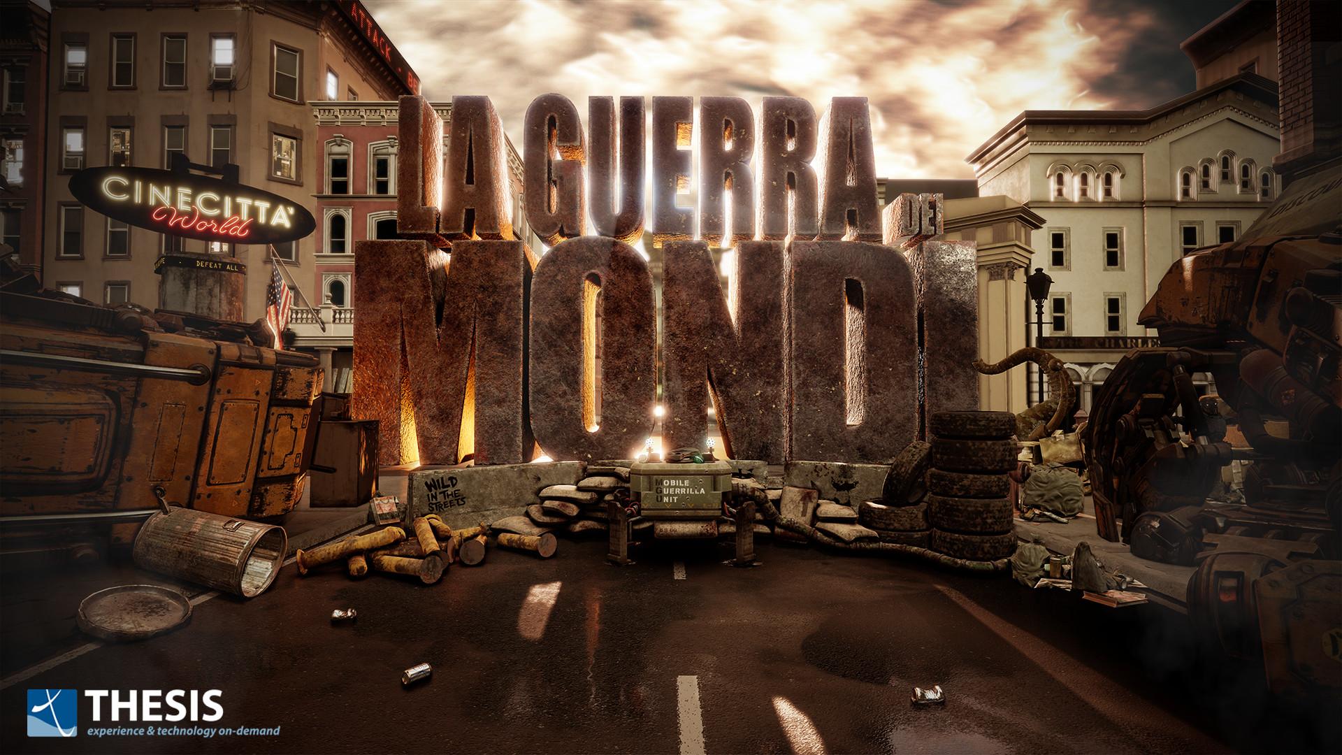 'La Guerra dei Mondi' banner (Unreal Engine 4).