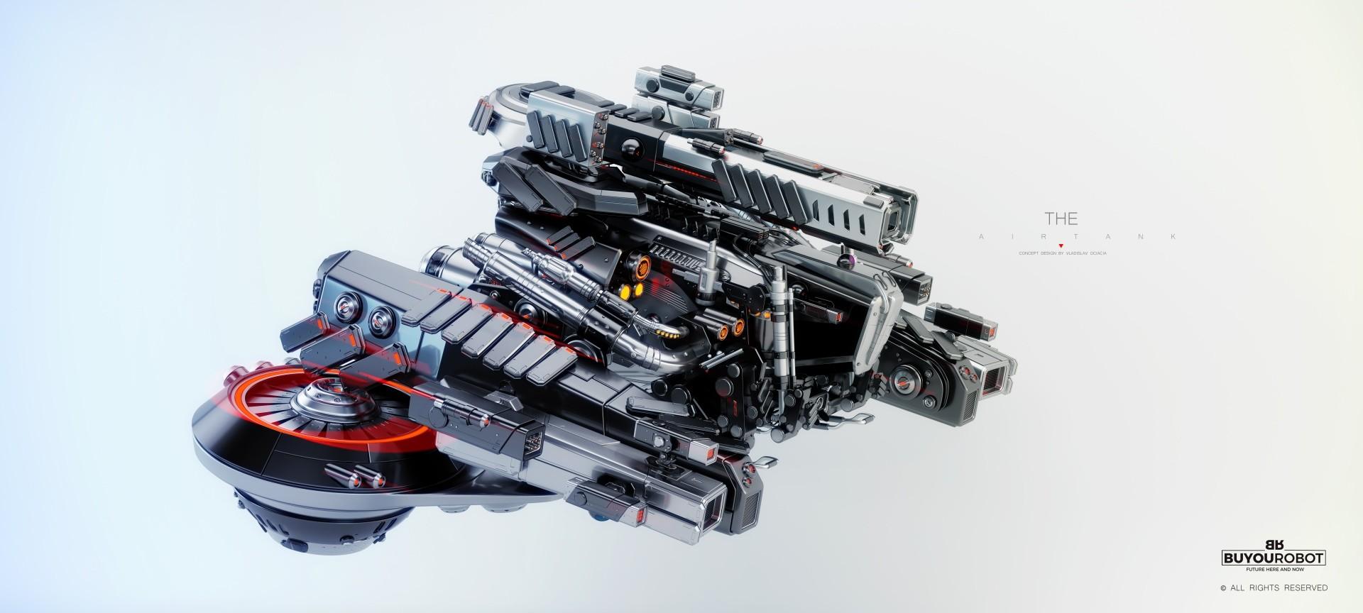Vladislav ociacia air tank robot 1