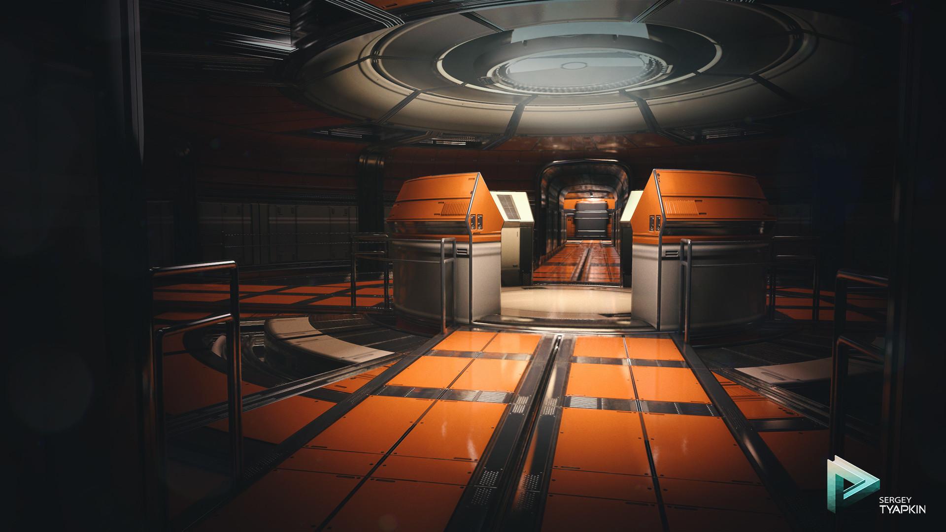 Sergey tyapkin sci fi environment 2