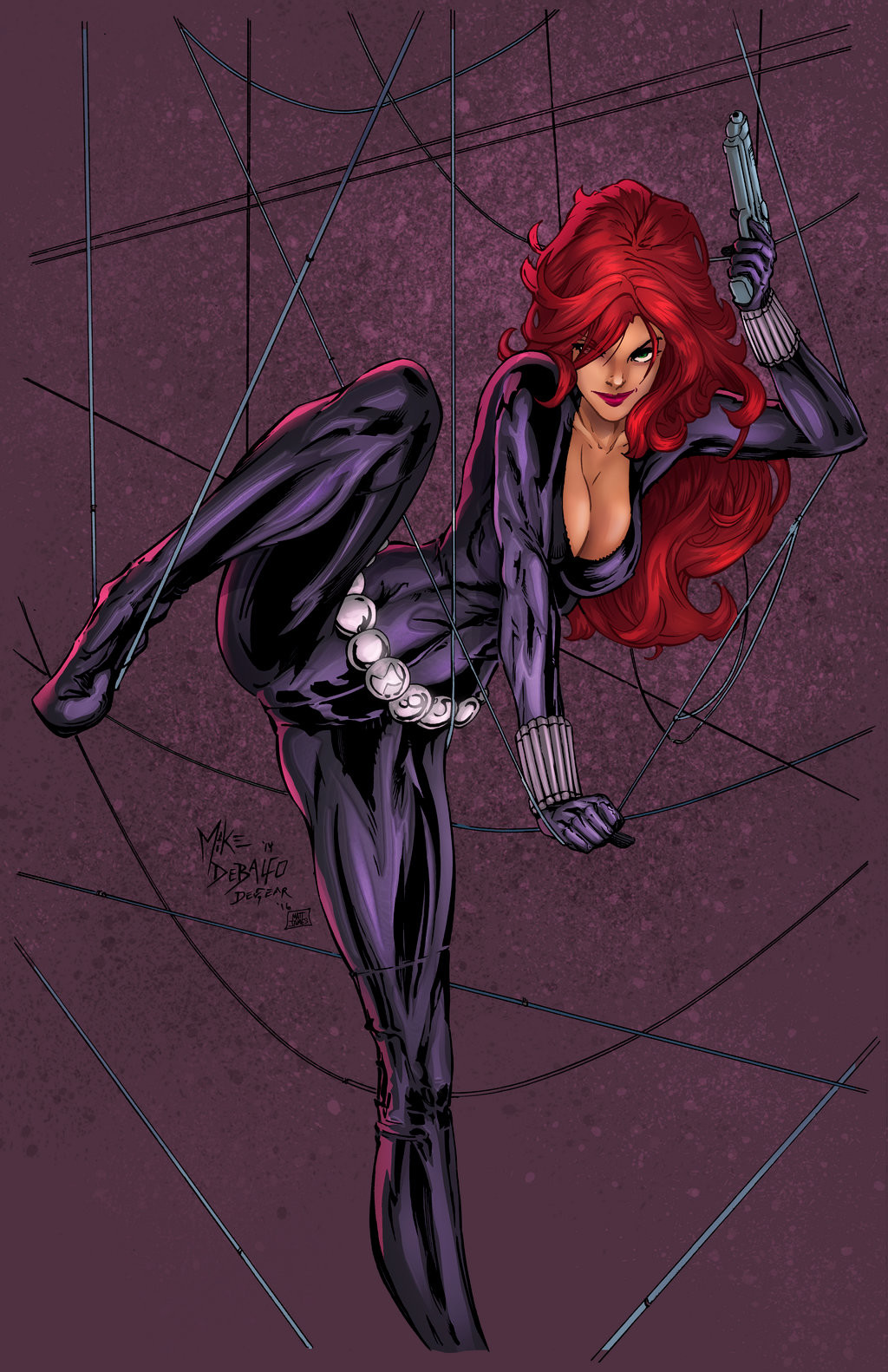 Matt james black widow by snakebitartstudio dbdxu1m
