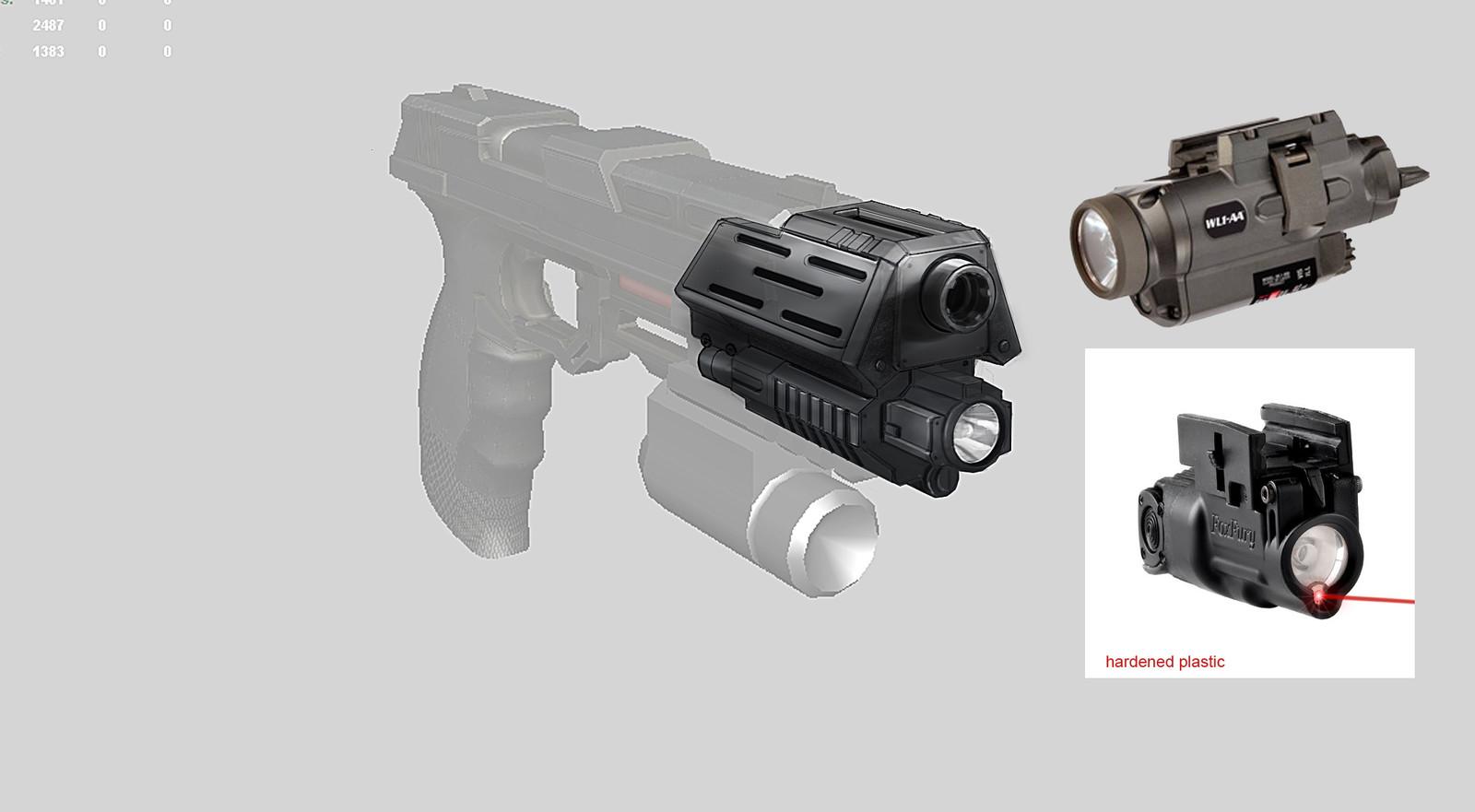 Pistol upgrade attachment