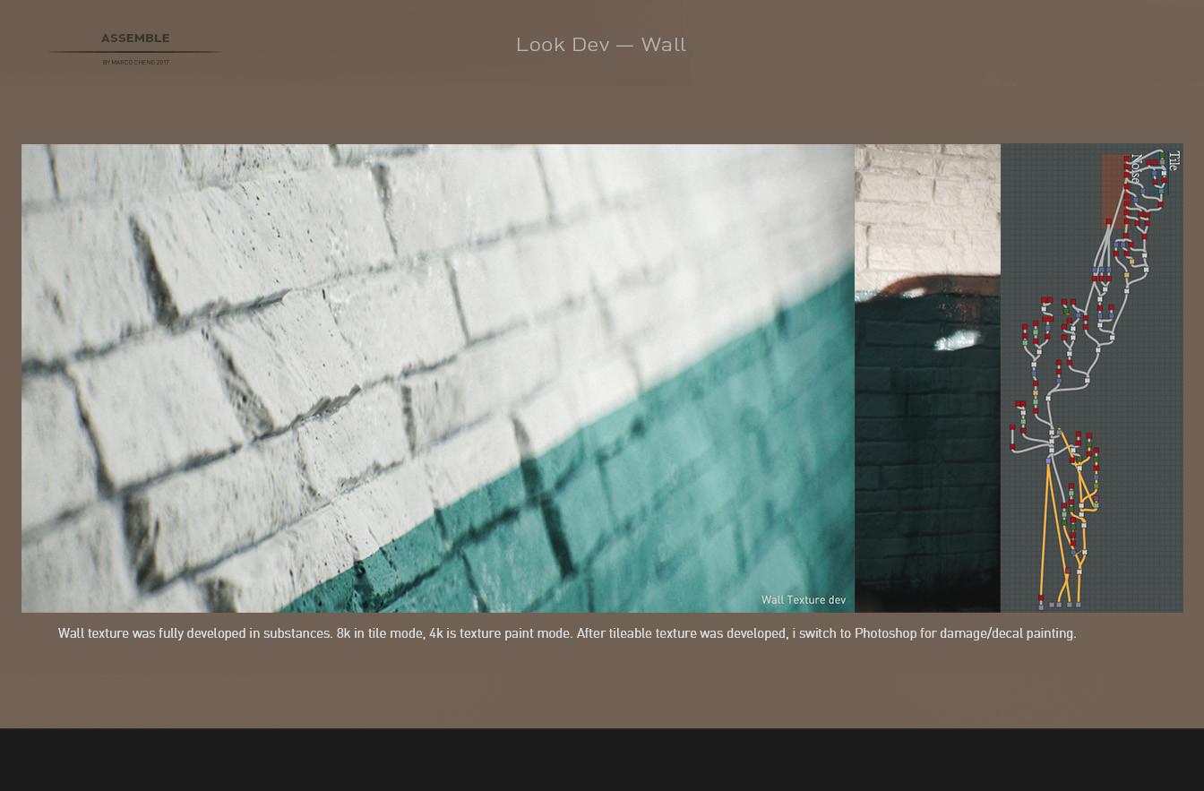 Marco cheng wall