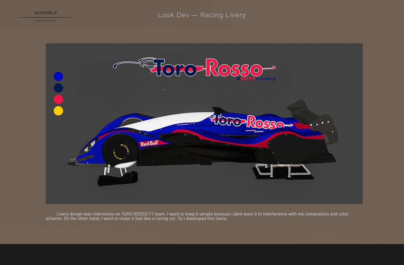 Marco cheng livery