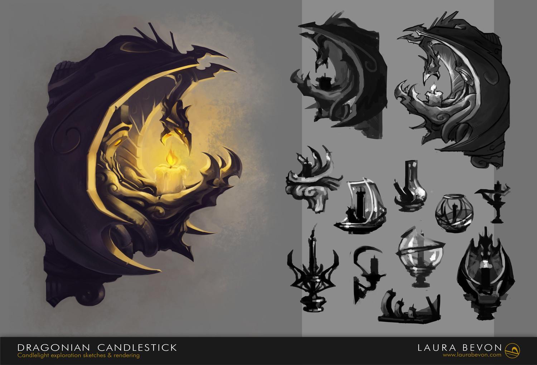 Dragonian Candlestick