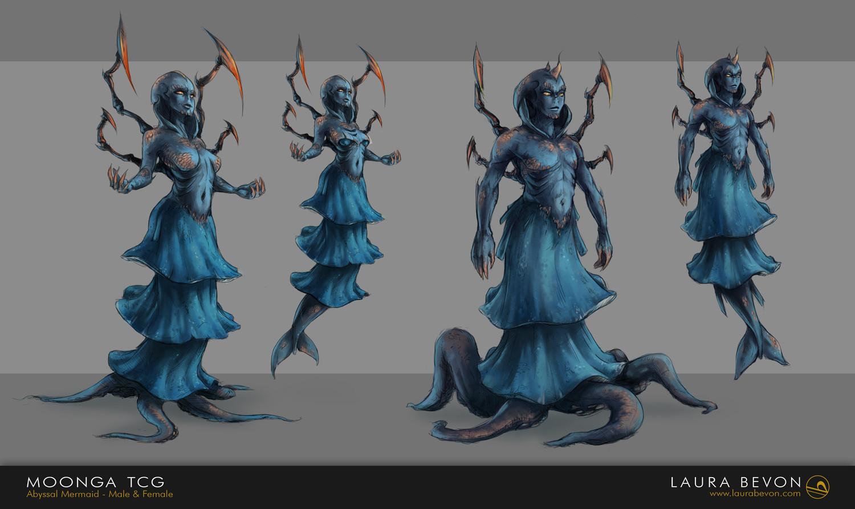 Moonga - Abyssal Mermaid