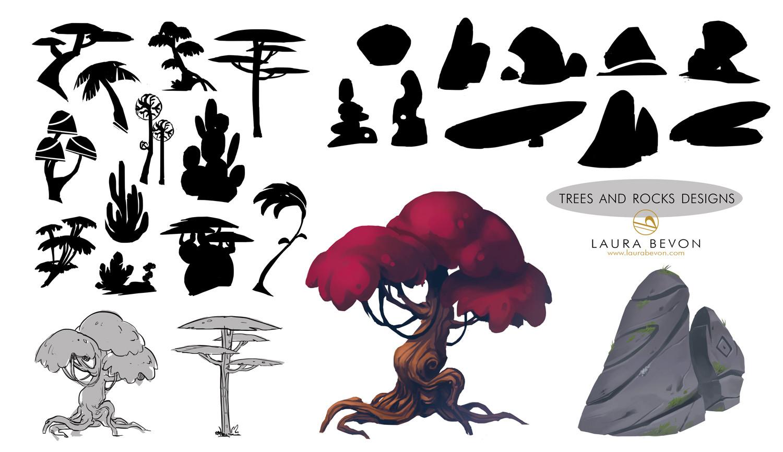The Last Souls - Trees & Rocks